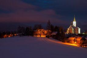 Farní kostel sv. Ignáce z Loyoly na Borové v Malenovicích