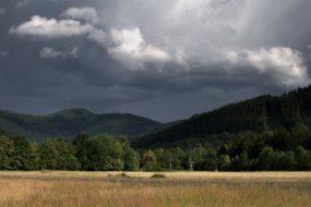 Pohled na Lysou horu z Malenovic