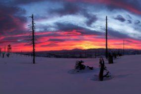 Ráno na Baraní hoře