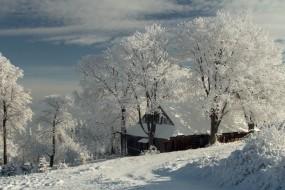 Zima v Beskydech