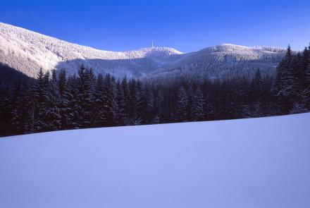 Michal Šofer - Lysá hora z Malenovického kotle (Fuji Velvia RVP 50)