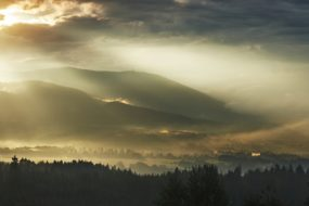 Slezské Beskydy – Večerní Javorový